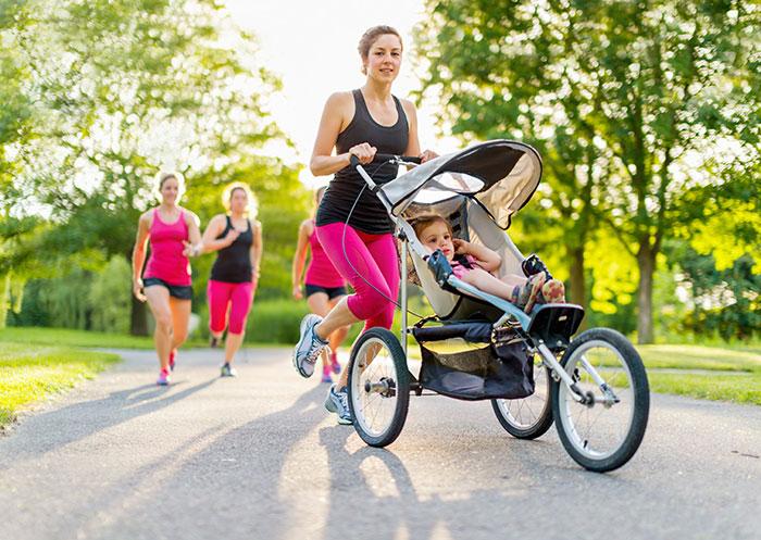 Hardlopen na bevalling