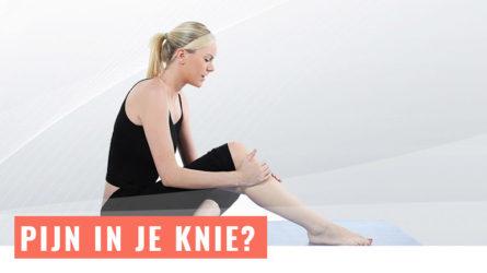 Pijn in je knie