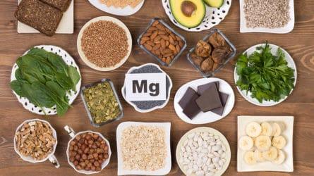 Eten met magnesium