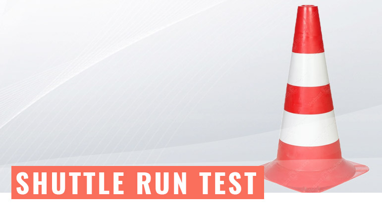 Shuttle run test