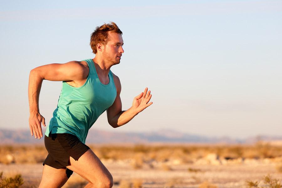 Houding hardlopen
