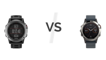Garmin Fenix 3 vs Garmin Fenix 5