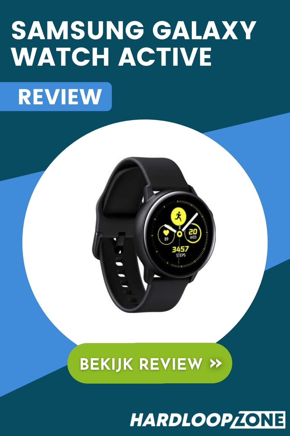 Samsung Galaxy Watch Active Review Smartwatch Hardloopzone