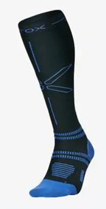 Hardloopsokken mannen zwartblauw