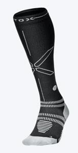 STOX hardloopsokken vrouwen grijs/zwart